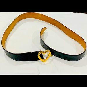 Women's Moschino Leather Belt
